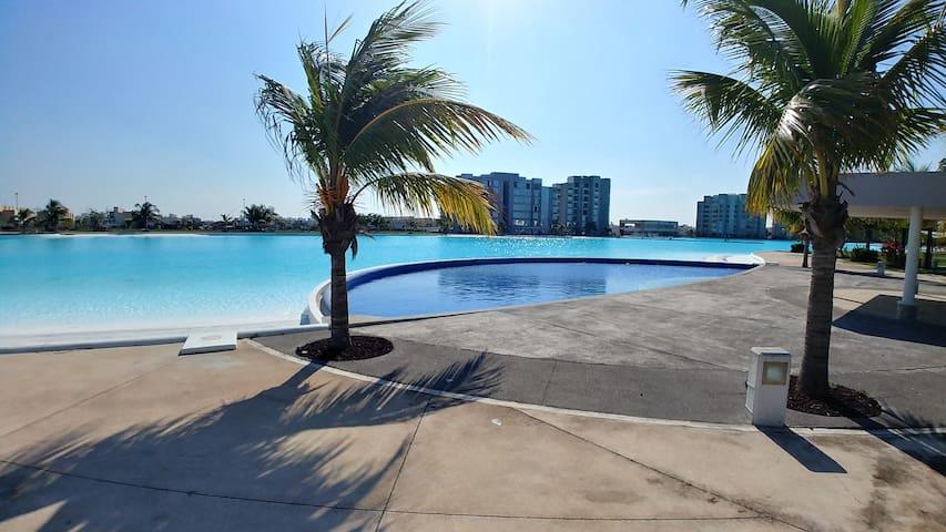 Casa  de vacaciones, Dream Lagoons, Veracruz