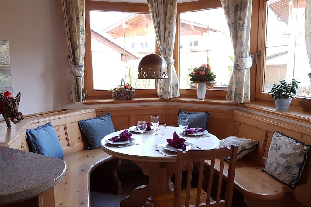 Frühstücksplatz in der Küche