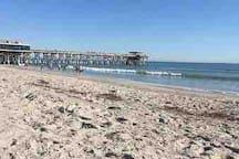 Cocoa Beach Pier.