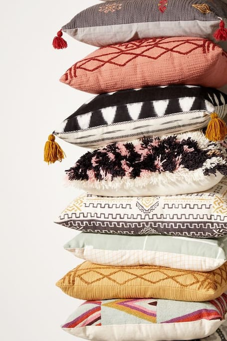 Clean cushions you can snuggle in.