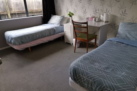 A nice room  in a peaceful surburb near airport