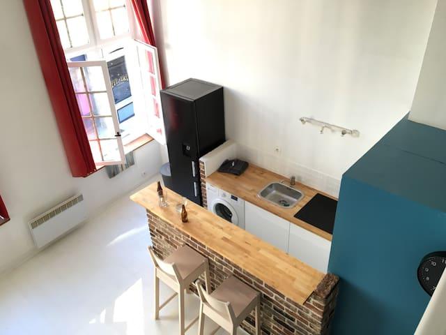 Duplex vieux LILLE - Lille - Apartment