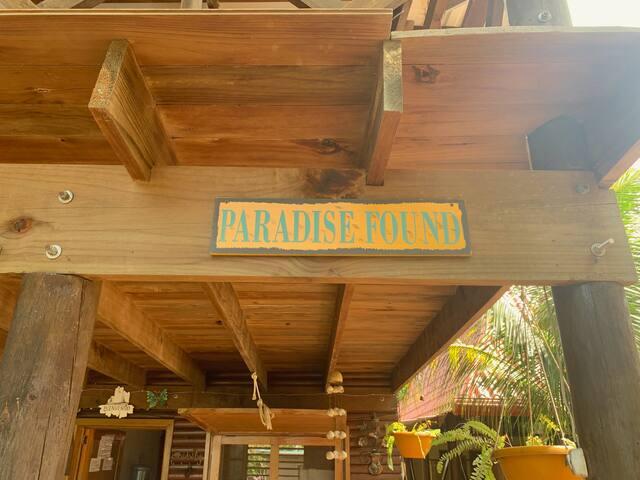 Paradise Found (paraíso encontrado)