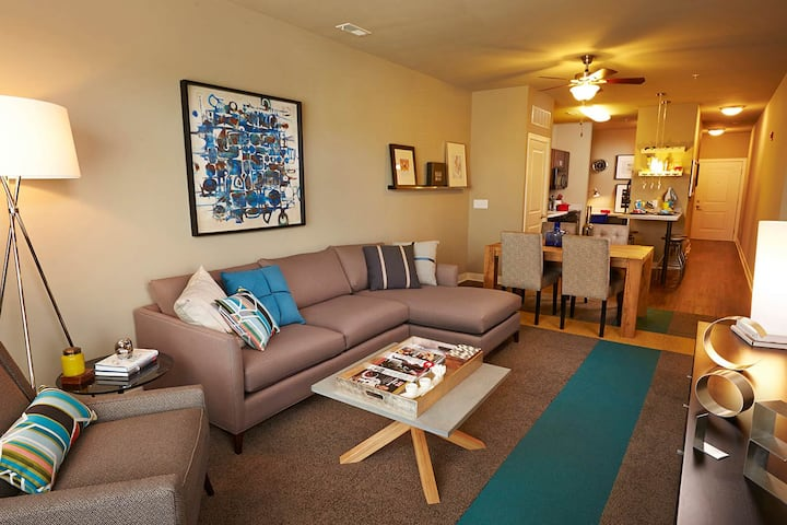Charming 1BR with fitness center in Columbus, IN