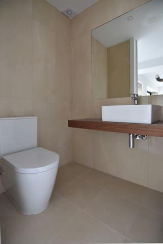 Bathroom - living room