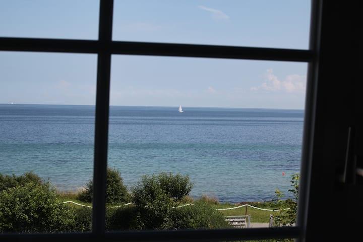 Strandferienwohnung Seelilie mit tollem Meerblick