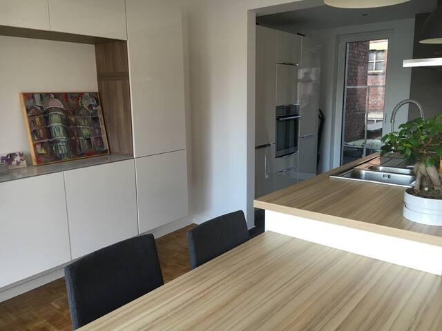 Appartement luxueux 1ch au centre - Charleroi - Apartmen