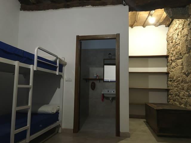 Habitación Grande, cama 1 - A Cruz - Casa