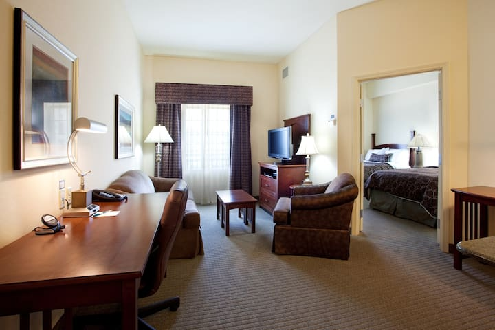 Walking Distance to LSU Campus | Comfy Suite + Pool Access