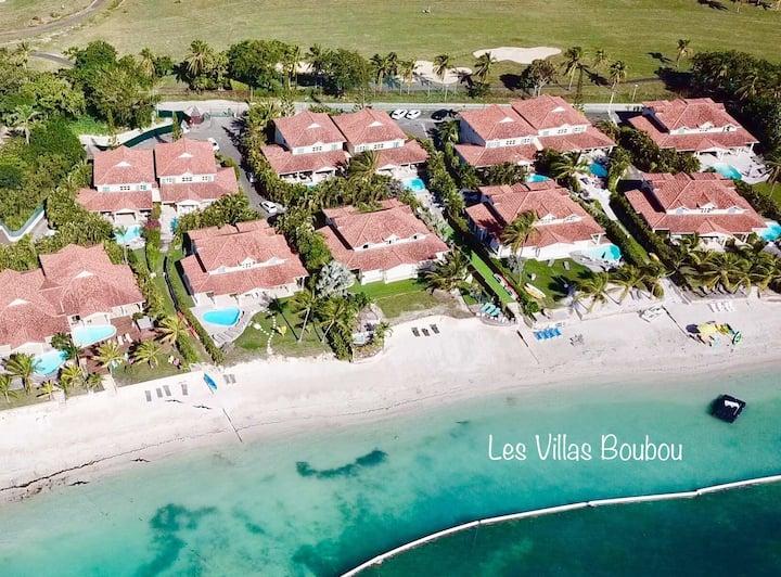 Villa de luxe les pieds dans l'eau, piscine et spa