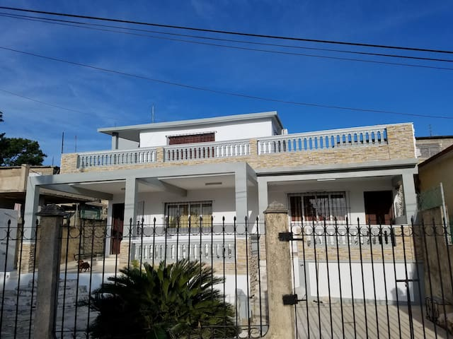 Front view of Patry & Ronel House