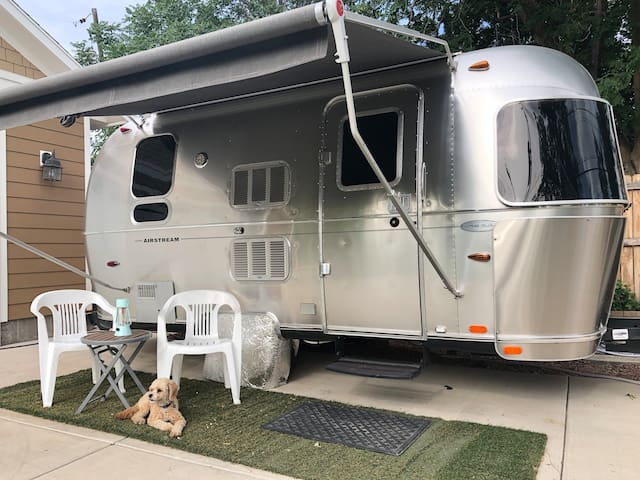 Luxury Airstream Bambi *(cavoodle not included)