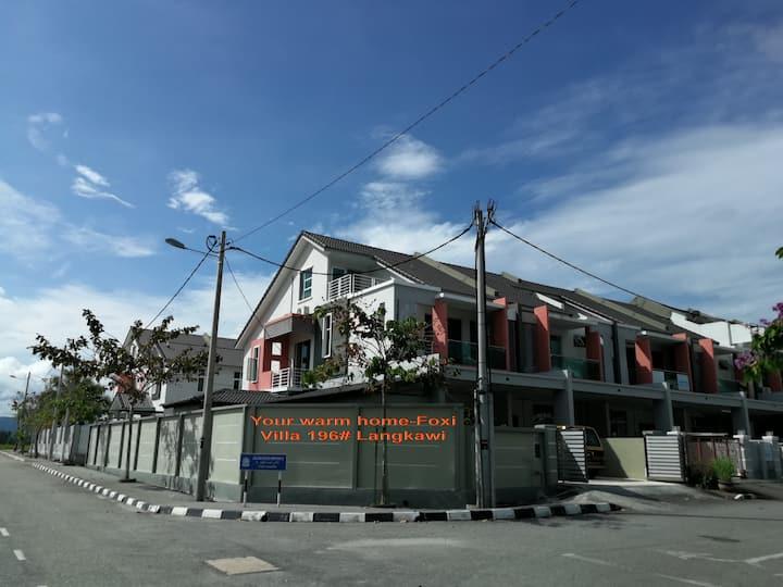 佛系休闲度假别墅196#兰卡威(Foxi holiday villa 196# Langkawi)