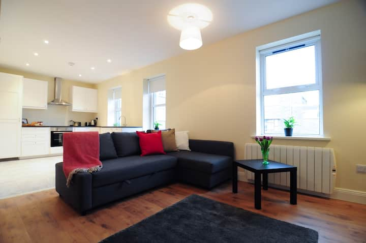 Stylish, Bright, Spacious City Centre Apartment.