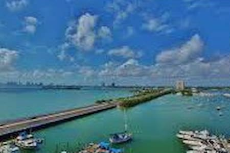 MIAMI BEACH ENTIRE STUDIO BREATHTAKING - North Bay Village - Apartment