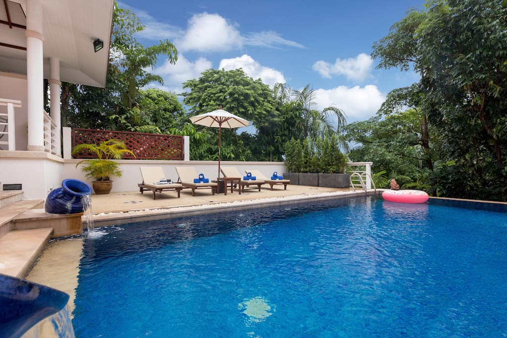 8*4m Private Swimming Pool