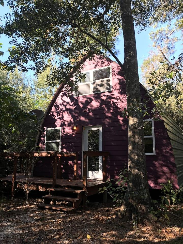 Nature's Retreat Yoga Cabin in Houston