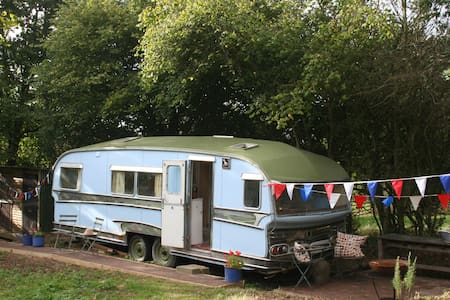 Gypsy Caravan Glamping in East Sussex - East Sussex - Wóz Kempingowy/RV