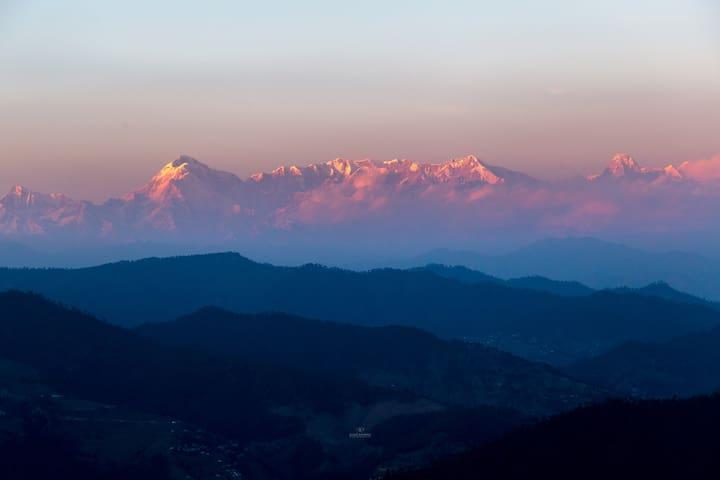 Himalayan house, Dinapani, Kasar Devi, Almora