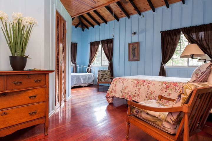 Large private room for up to 4 with full breakfast - Bajo Boquete - Dům