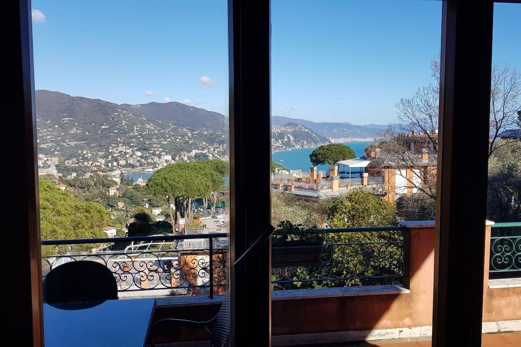 Che vista mare dal salotto di casa!