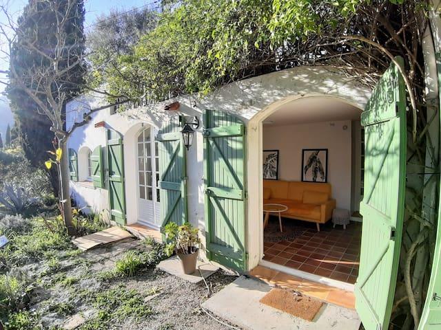 Concon paisible avec jardin d'olivier privatif