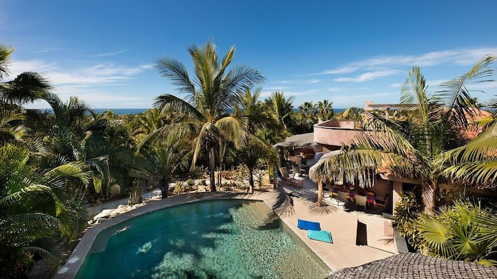 Beautiful Casa Iguana in Las Tunas, Todos Santos
