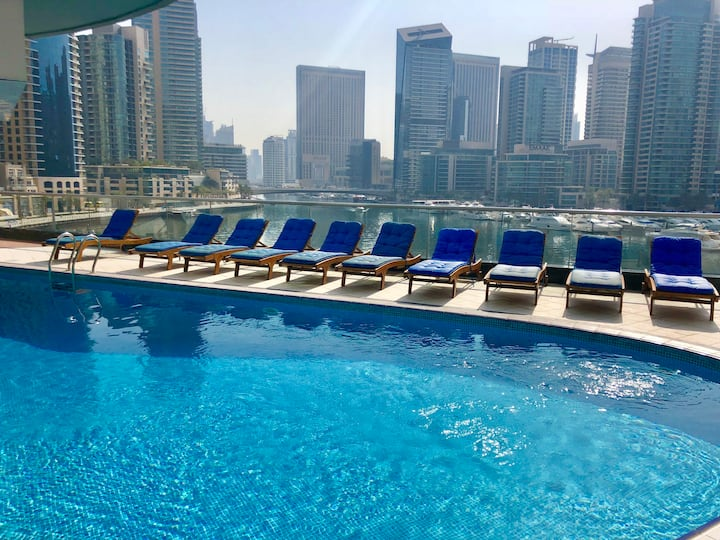 Amazing 3 BDR with gorgeous view in Dubai Marina