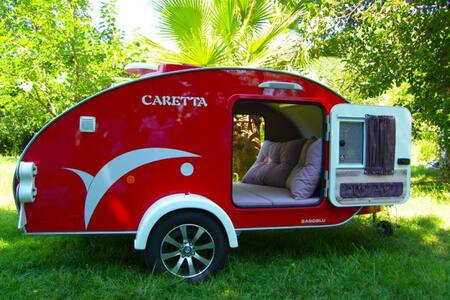 Best Lcations In The Desert - TEXAS CARAVANS - Hazeva - Asuntoauto