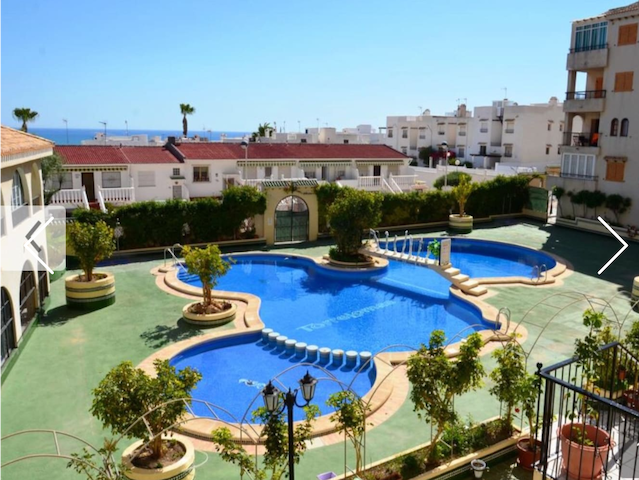 Torrevieja, La Mata studio with sea view