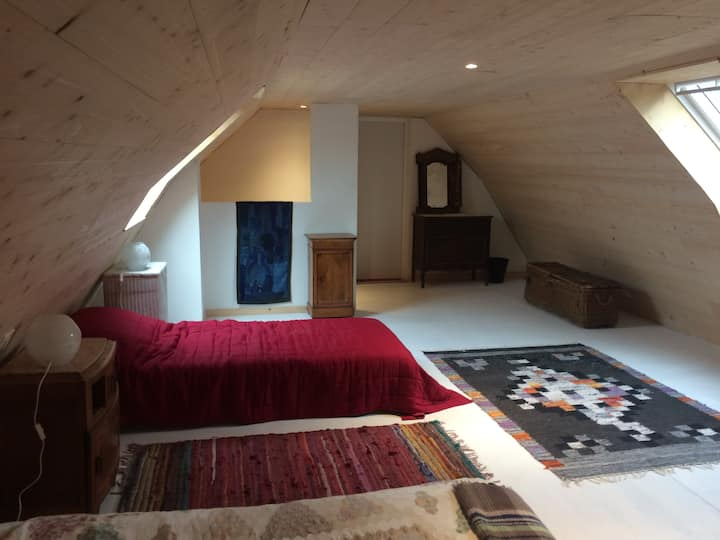 Attic at Koumkinvi