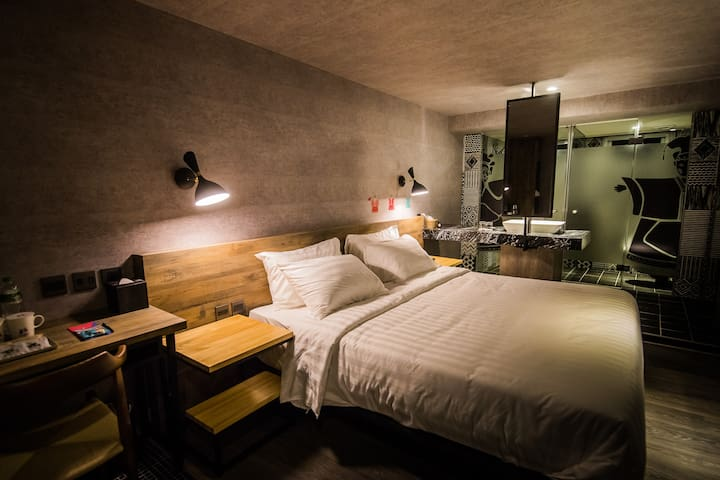 春秋丑房大床房 Explore Yunlin in a cozy Double Room