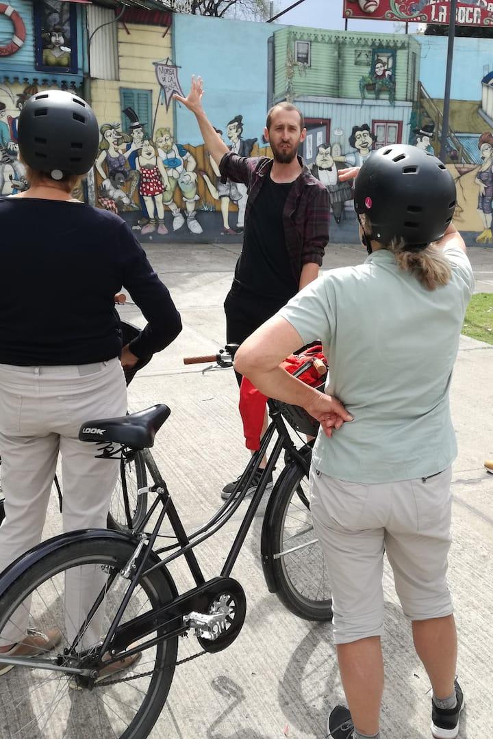 Bici Tour Mural en La boca