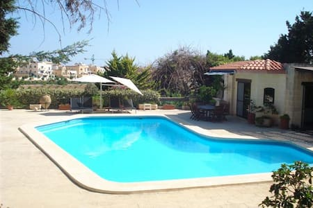 Bungalow with Private Pool - San Ġiljan - Appartement