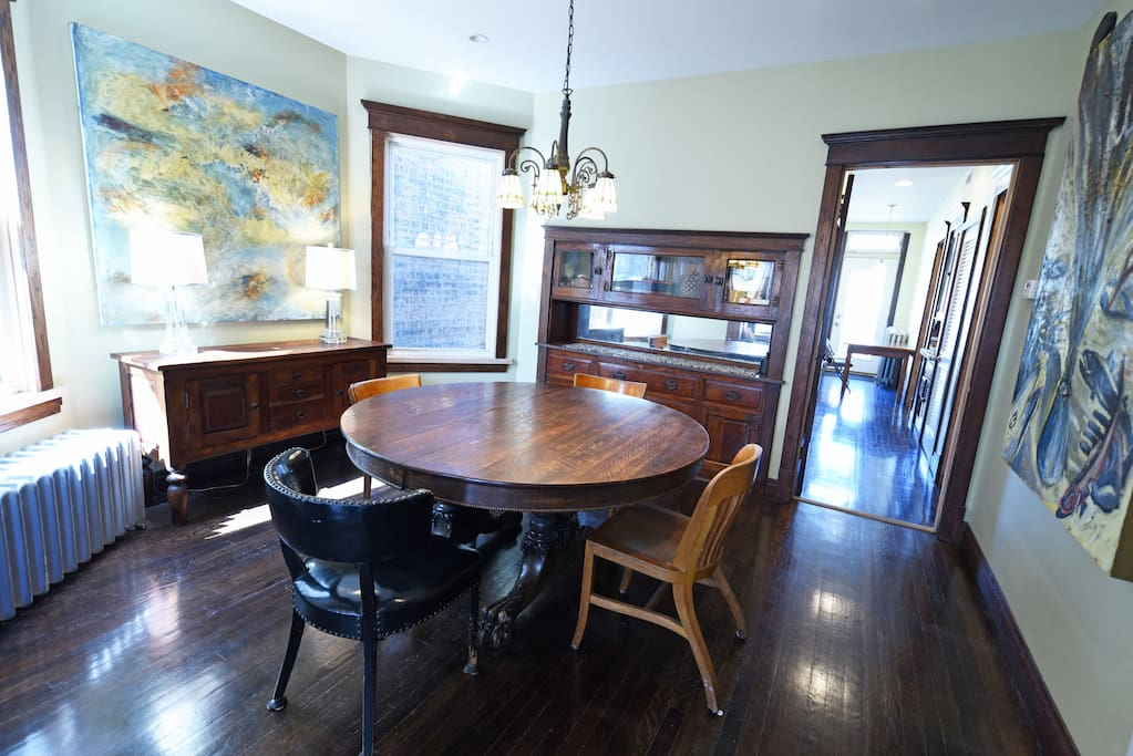 Dining Room with Table and Buffet