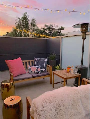 roof terrace located off loungeroom