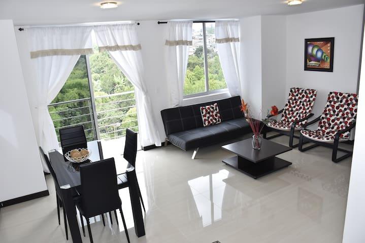Espectacular apartamento nuevo con 3 habitaciones