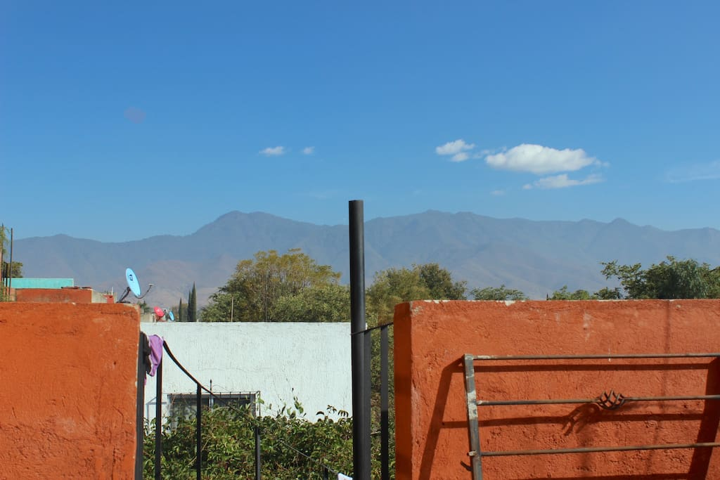 Wonderful view of the mountains from the patio