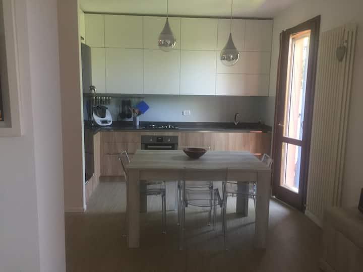Appartamento con entrata indipendente mare Fano