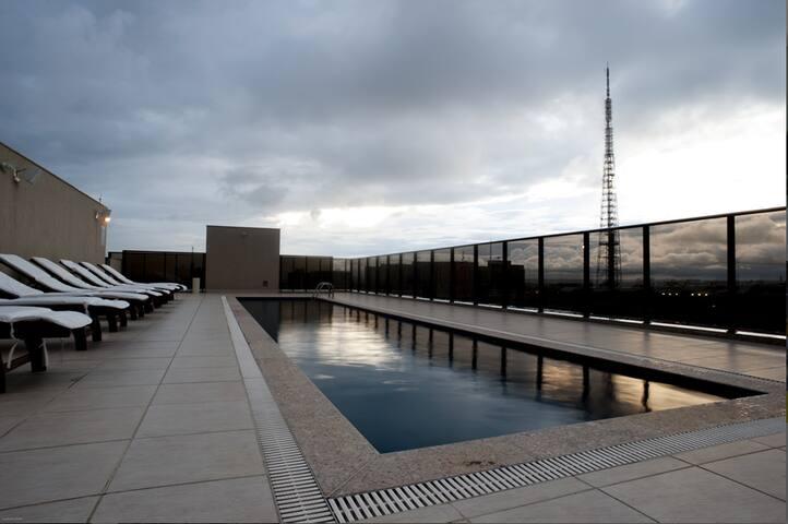 Hotel Room in the Heart of Brasilia
