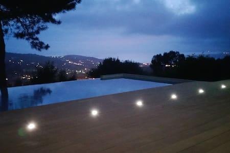 appartement RDC villa avec piscine - Viggianello