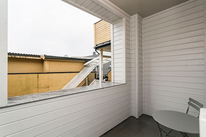 Stunning apartment in the heart of the city - Porsgrunn - Daire