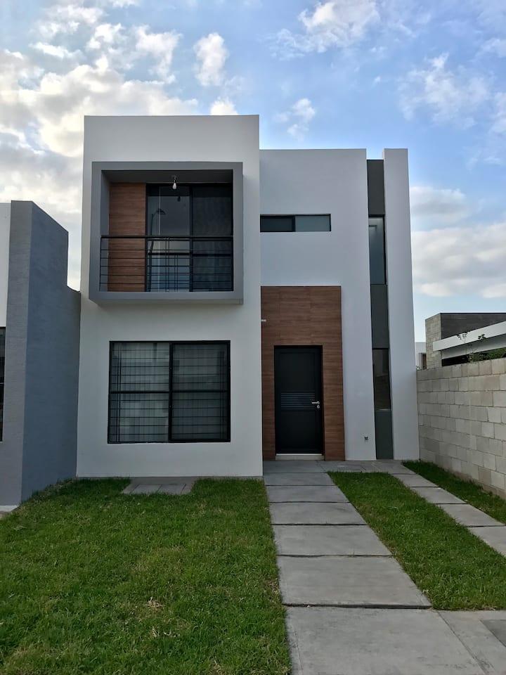 Casa Nueva Zona Industrial San Luis Potosí.
