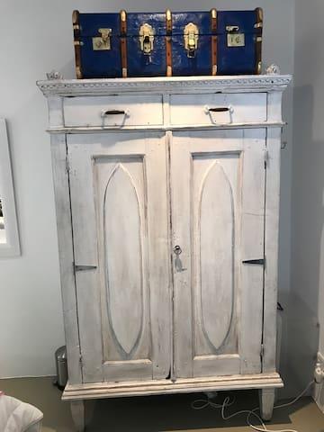 Cupboard in second bedroom