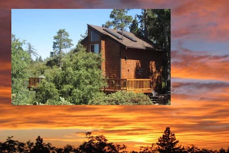 "Amazing Sunset Views ""Paradise Pines Retreat"" ❤️"