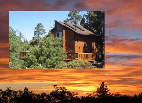 "Amazing Sunset Views ""Paradise Pines Retreat"" ❤️"