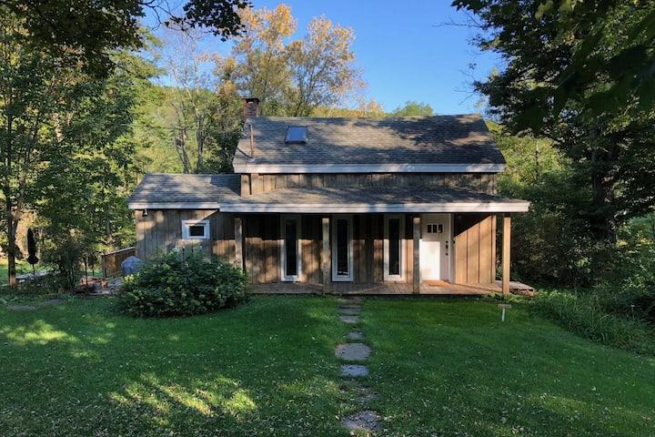 Stylish Catskills mountain house
