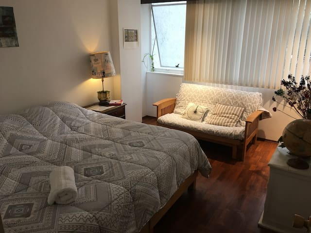 Depa 2 habitaciones  a una cuadra de Masaryk.