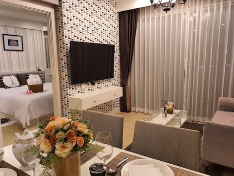 Exclusive Seaview 1 bedroom suite @ Bangsaen