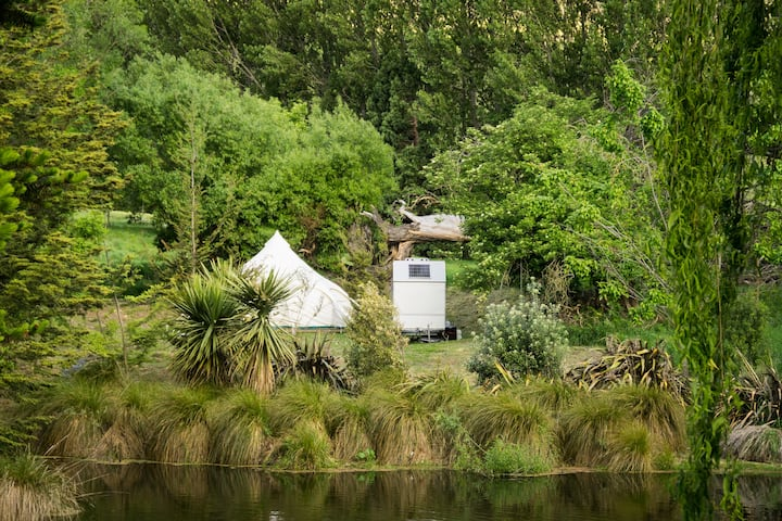 Remarkable's Glamping Queenstown - Secluded Rural